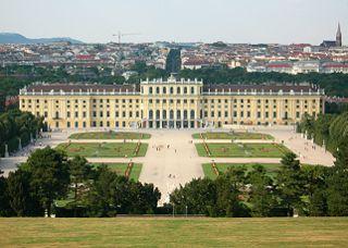 Ein Wochenende in Wien im Januar 2004
