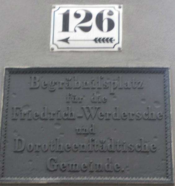 Berlin einmal anders, Dorotheenstädtische Friedhof